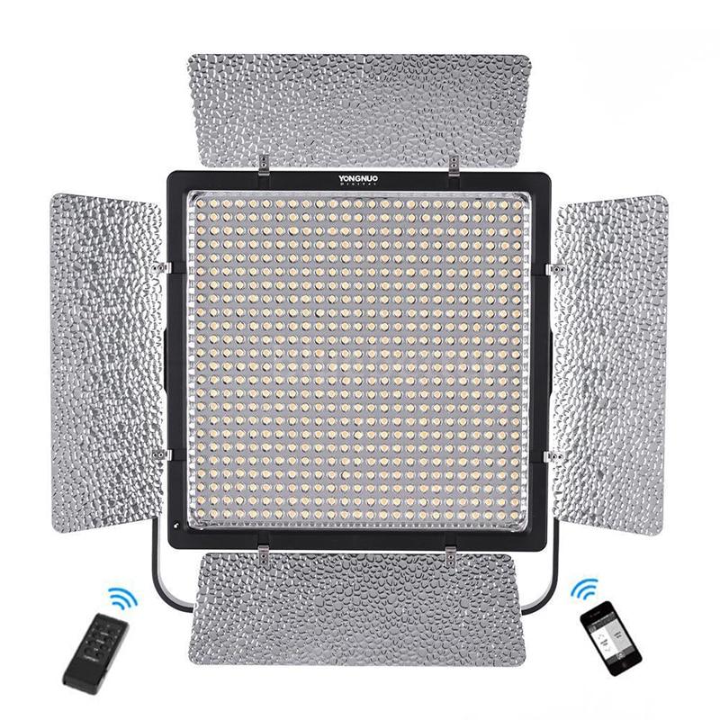 Yongnuo YN860 Powerful 86W LED Video Light 5500K White Bi color 3200 5500K CRI95 LEDs Lamp