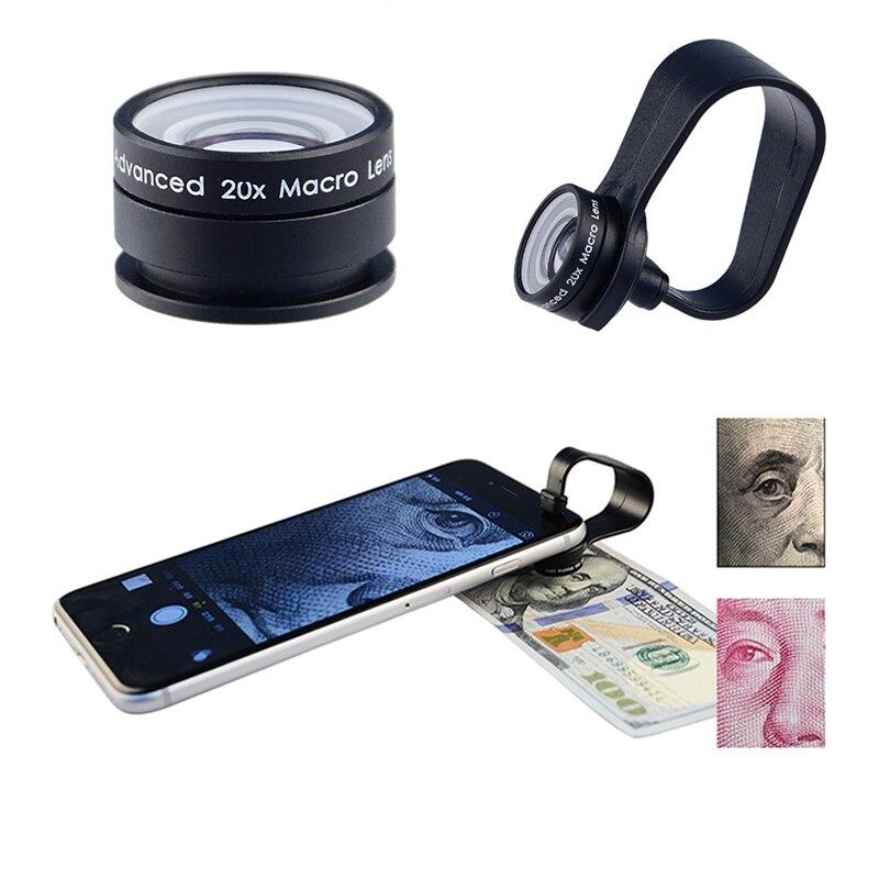 HD 20X Microscope Macro lens For Xiaomi redmi 2 3 S 4 note 3 MI4 MI5 MI6 Mobile Phone Camera Lenses For Meizu m3e m2 mini m3s
