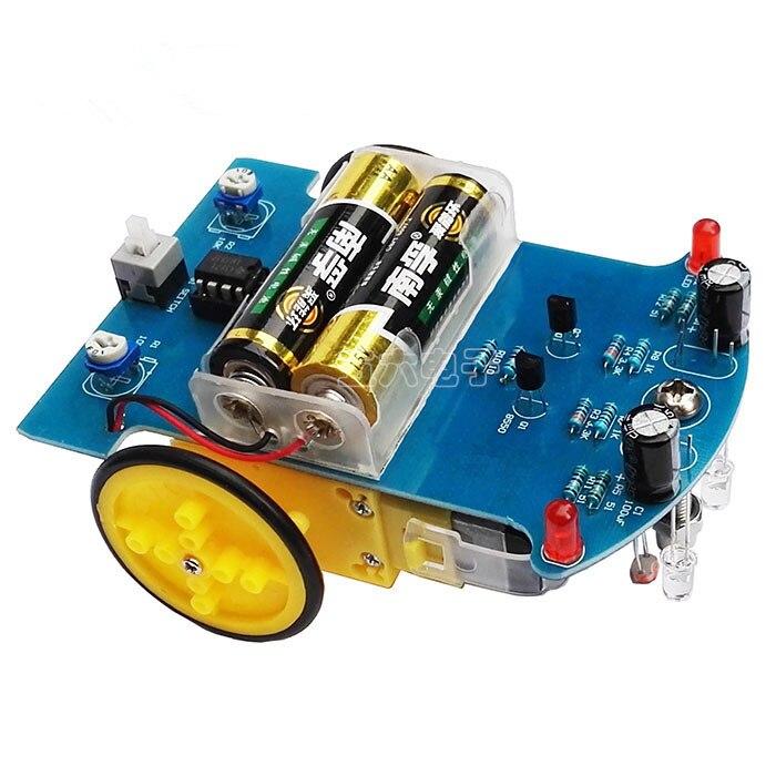 Sammeln & Seltenes Intelligente Tracking Auto Kit Dgd2-1 Linie Auto Teile Elektronische Produktion Diy Technologie Produktion