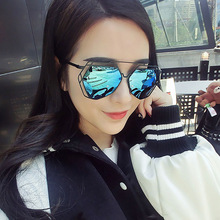 Top Sale Square Shaped 2017 New Sunglasses Women High Quality Top Brand Sunglasses