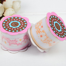 New DIY Ribbon Flower Headband Covering Material Clothing Accessories Ultrasonic Embossed Belt Gift Box Packaging Supplies