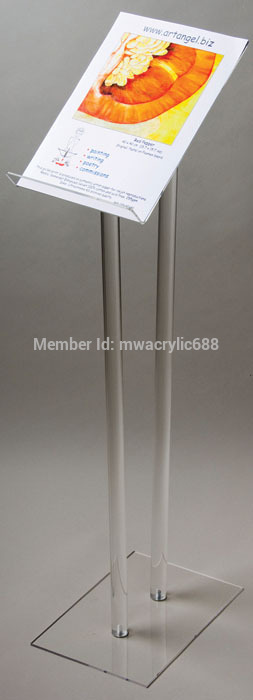 Free Shipping Transparent Cheap Acrylic Lectern Podium Plexiglass