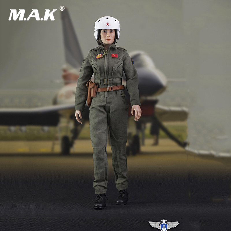 Collectible 1/6 Scale FS-73006 1:6 Scale Chinese Air Force Pilot Action Figure Toy Doll Toys Gift 1 6 scale ancient figure doll gerard butler sparta 300 king leonidas 12 action figures doll collectible model plastic toys