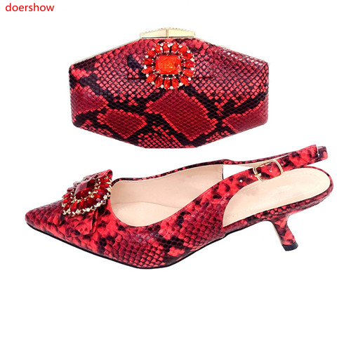 doershow hot selling nice red Shoes And