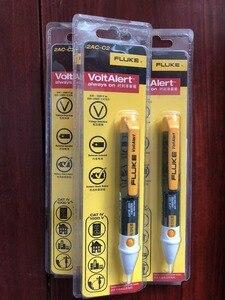 Image 2 - משלוח חינם פלוק 2AC וולט התראה ללא מגע מתח VoltAlert גלאי עט 200 1000V בודק מקל עט