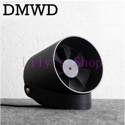 DMWD Desktop USB mini air conditioner Fan Portable Ventilation Conditioning Blower cooling fans Adjustable Speed cooler office portable handheld mini usb cooling fan bladeless household no leaf air conditioner fans electric conditioning cooler office home