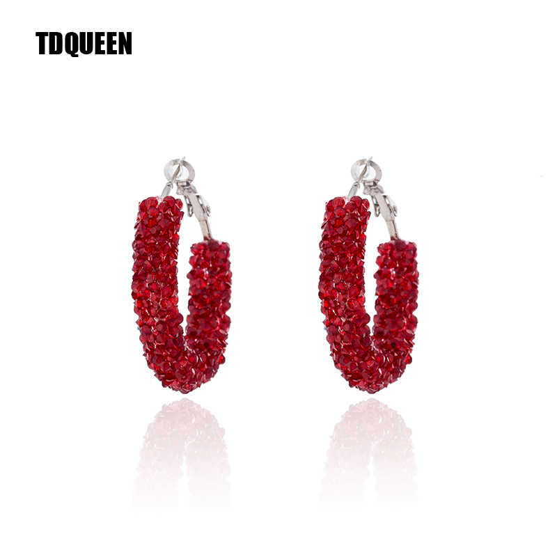 692f8d5a99 Detail Feedback Questions about TDQUEEN New Fashion Hoop Earrings ...