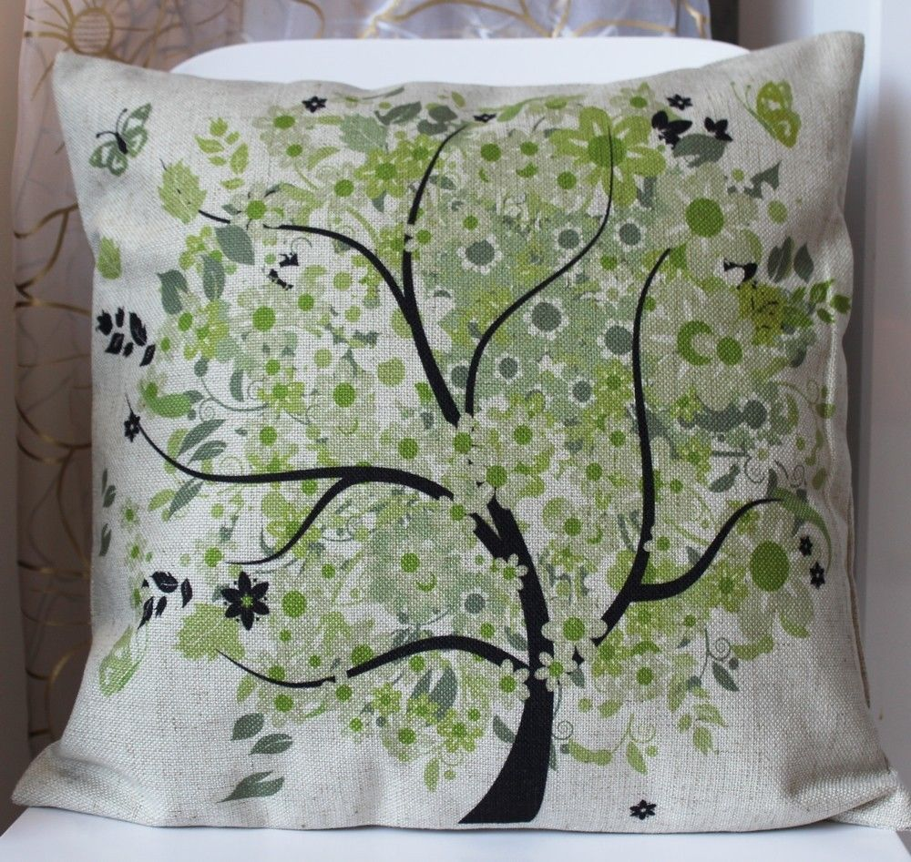 Shabby Chic Decorative Throw Pillow : Compare Prices on Tree Throw Pillows- Online Shopping/Buy Low Price Tree Throw Pillows at ...