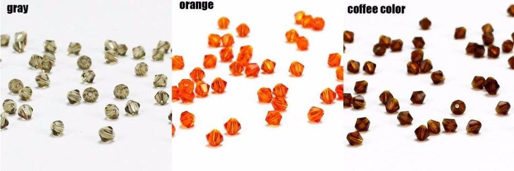 шарик; Бусина 4мм ; Кристалл; шарик;