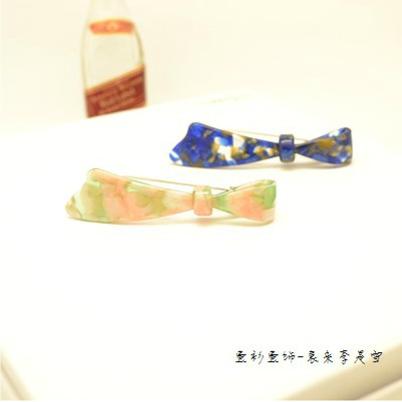 New arrival hair grips Cellulose  Acetate tortoise hair accessories Free shipping 9 colors