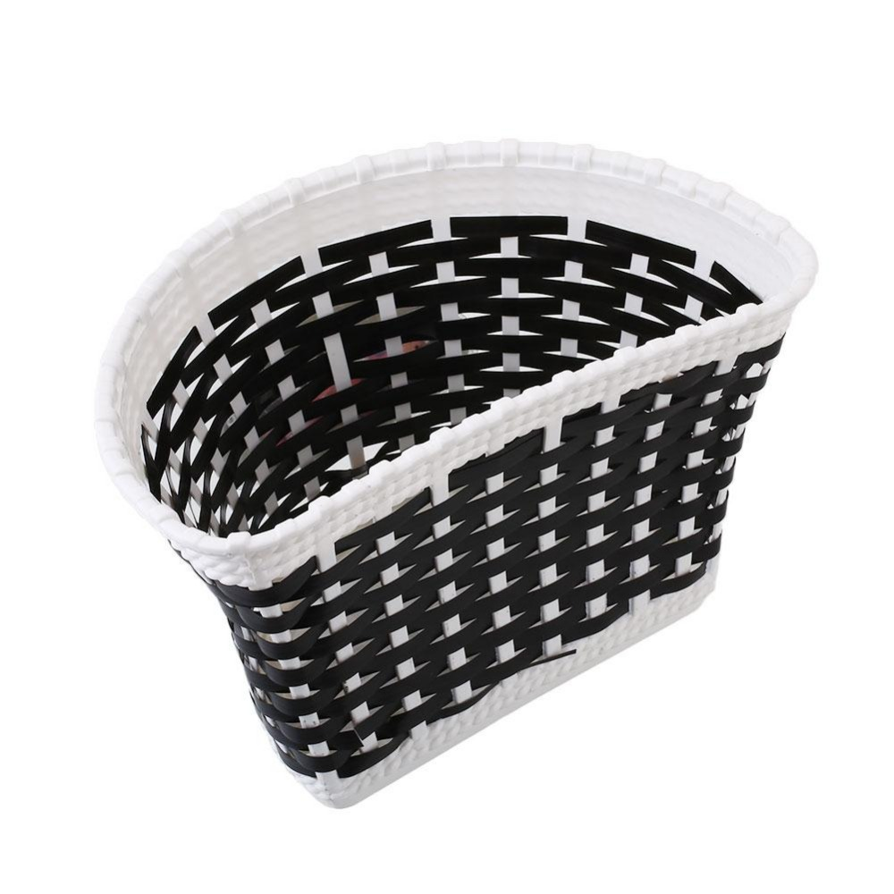 Outdoor Bicycle Bags Panners Bowknot Front Basket Bicycle Cycle Shopping Stabilizers Basket lovely Gift