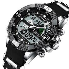 ยี่ห้อใหม่หรูหราผู้ชายควอตซ์นาฬิกากองทัพทหารทหารผู้ชายกีฬานาฬิกานาฬิกาชาย Relogio Masculino Reloj Hombre