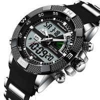 Nuevo Reloj de cuarzo Led de lujo para Hombre, Reloj Digital militar, Reloj deportivo para Hombre, Reloj Masculino