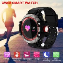 Продажа Слизняк спортивные Смарт-часы Для мужчин Для женщин Водонепроницаемый IP68 сердечного ритма крови Давление Bluetooth Smartwatch вызова сообщение напоминание