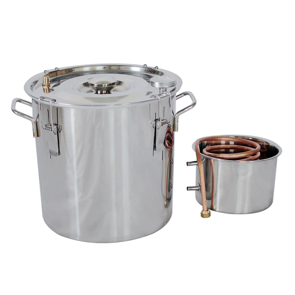 все цены на 5 gallons Water Alcohol Wine Distiller Stainless Copper for Aroma Essential oils