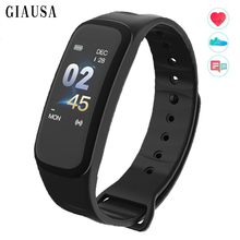 Купить с кэшбэком Fashion New Smart Band Blood Pressure Fitness Tracker Heart Rate Monitor Smart Bracelet Black Men Watch for Sport Climbing Y5
