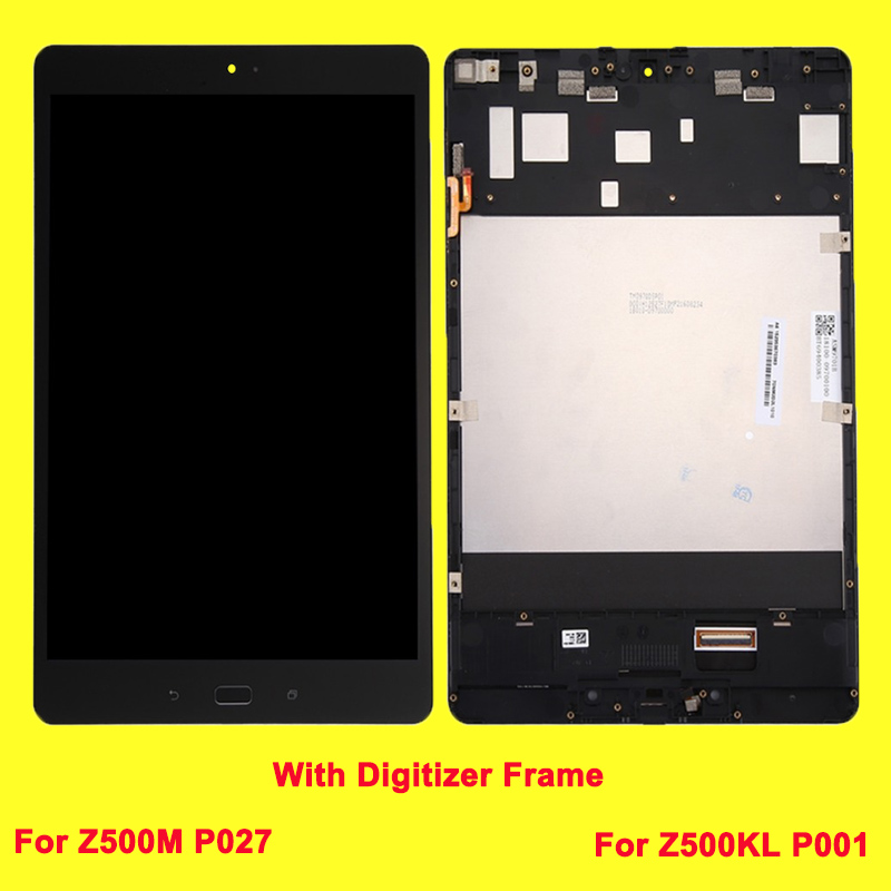Original LCD Screen with Frame For Asus Zenpad 3S 10 Model Z500M P027 Z500KL P001 Touch Digitizer Assembly new 9 7 lcd display touch screen panel digitizer glass assembly replacement with frame for asus zenpad 3s 10 z500m p027