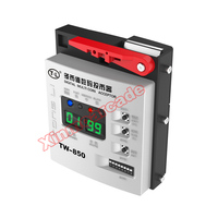 TW 850 Digital Top Entry Multi Coin Acceptor Token Selector Coin Mech for Arcade Game Cabinet Kiosk Vending Machines