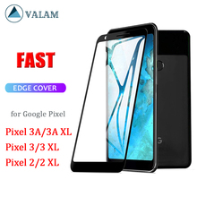 VALAM Tempered Glass Screen Protector For Google Pixel 3A 3 XL 2 Cover Full Body lite
