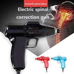Versión mejorada 680N, vértebra Cervical, pistola correctora, instrumento de ajuste quiropráctico, corrector de Espina de intensidad ajustable