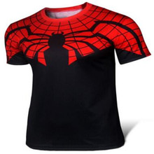 Ultimate spider-man T-shirt brand in 2016 Summer wear men's short sleeve T-shirt Anime surrounding the wholesale and retail