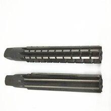 2PCS/Set Hand Reamers Set MT0/MT1/MT2/MT3/MT4/MT5 Steel Fine/Rough-Edge Morse Taper Reamer