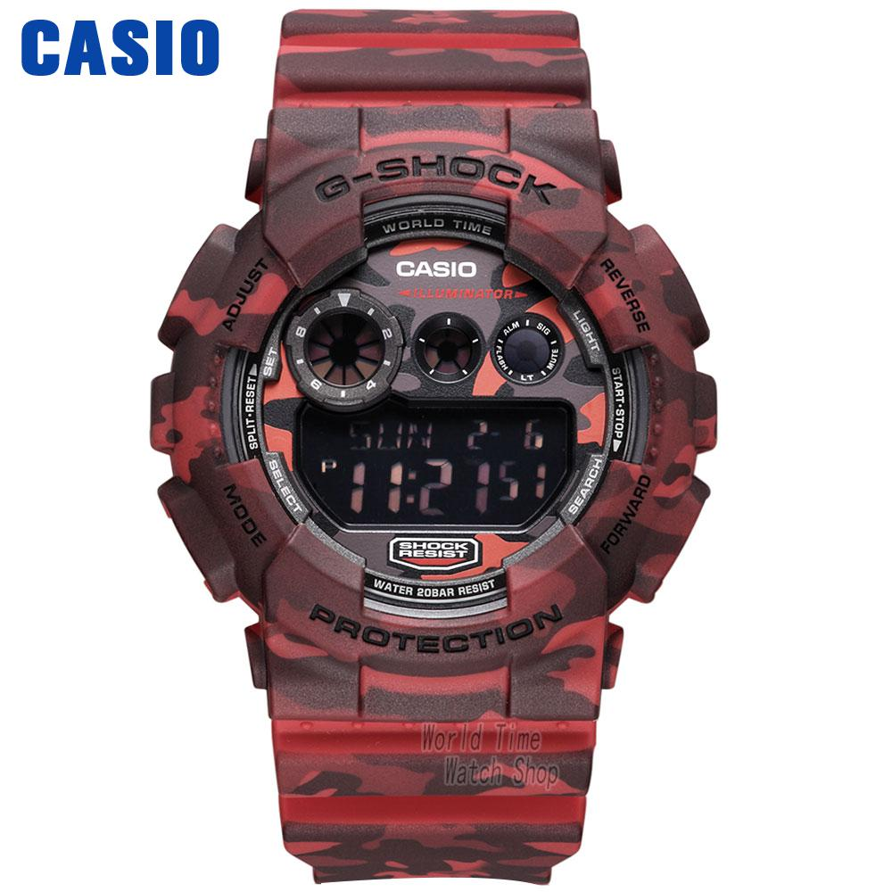 Casio watch large dial waterproof shockproof fashion sports electronic waterproof men's watch GD-120CM-4D GD-120CM-5D casio gd 400 4