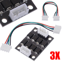 все цены на 3pcs/pack 3D Printer TL-Smoother V1.0 Addon Module MKS Smoother with Cable for 3D Printer Stepper Motor Drivers A8 Ender онлайн