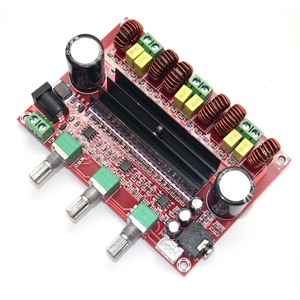 Image 5 - Lusya TPA3116D2 2.1電源amplificador 80ワット * 2 100wサブウーファー · オーディオ · アンプ用4 8オームスピーカーD3 005