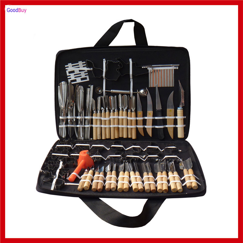 New all in 1 multifunction 80pcs set chef knife kit for Kitchen kit set