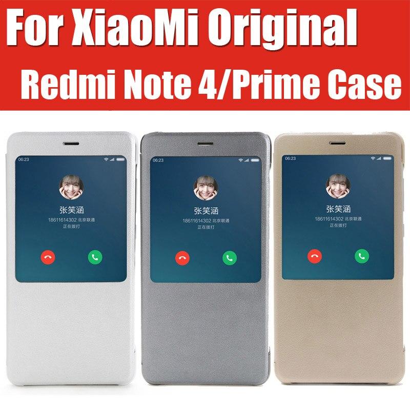 imágenes para Zck6050 redmi note 4 case original mi marca elegante magnético del tirón del cuero cubiertas para xiaomi redmi nota4 primer helio x20