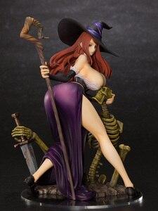 Image 2 - ญี่ปุ่น Orchid Seed มังกร Crown เซ็กซี่ PVC Action Figure 22cm สาวเซ็กซี่ตัวเลขอะนิเมะรุ่นของเล่นของขวัญ