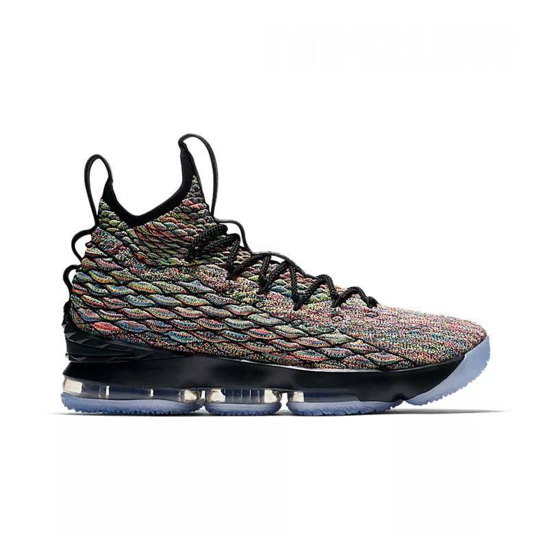 95b3b59fe2c44 Nike Lebron 15 Four Horsemen Men s High Top Basketball Shoes AO1754 901  40.5 45-in Basketball Shoes from Sports   Entertainment on Aliexpress.com
