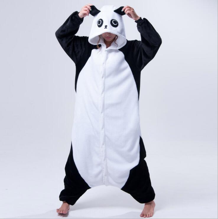 Cizgi film heyvanı birləşdirilmiş Panda pijama Unisex Animal - Karnaval kostyumlar - Fotoqrafiya 4