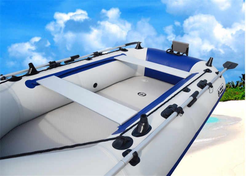 276*75*8cm אוויר סיפון עבור גומי סירת pvc חומר סירת תחתון סירת רצפת עבור 4- 6 אדם סירת רכרוכי תחושה