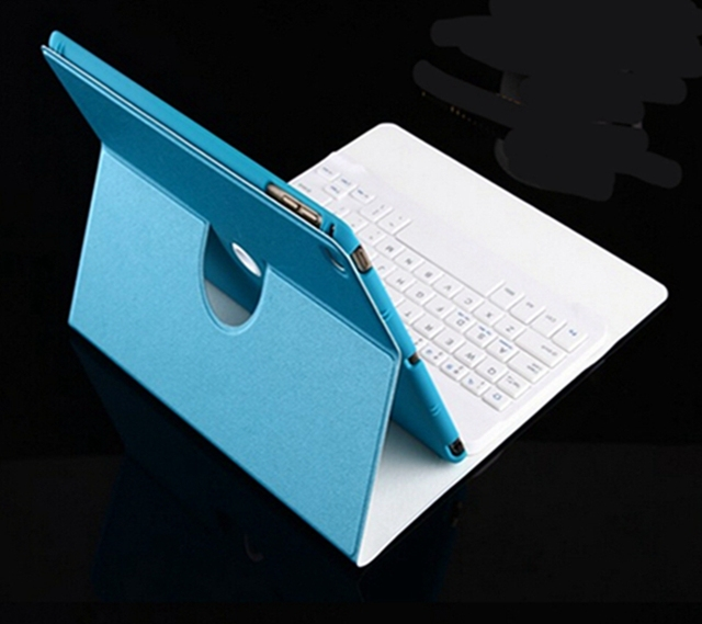 Newest Ultra-Slim Bluetooth Keyboard Case For iPad mini 4 With 360 Degree Rotation and Comfortable Low-Profile Keys