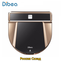 Dibea D900 Rover Wireless Robot Vacuum Cleaners for Home Aspirador Cleaner Wet Mopping Clean Corner Robot Sweeper