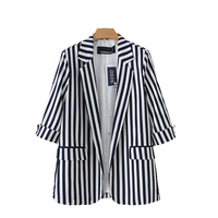 Black striped Blazers