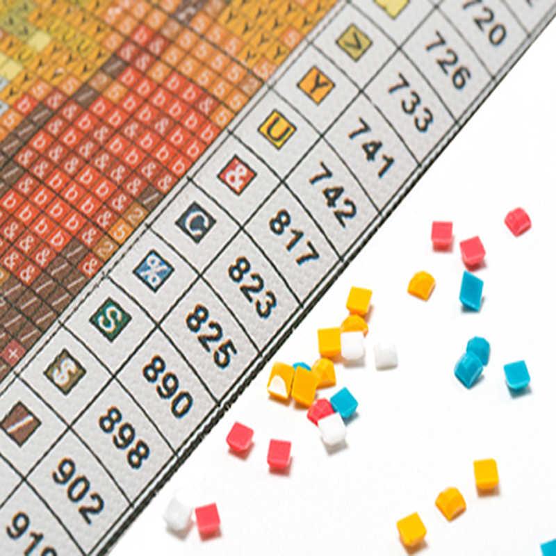 DIY Diamond Bordir Mark Ryden Gadis 5D Lukisan Berlian Cross Stitch Persegi Mosaik Potret Dekorasi Rumah
