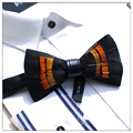 Novelty Men's Bow Tie - Natural Feather