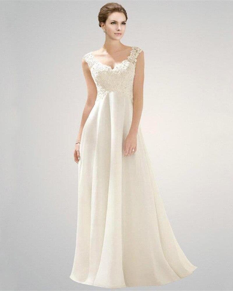 Tolle Vestidos De Novia Imperio Zeitgenössisch - Hochzeit Kleid ...