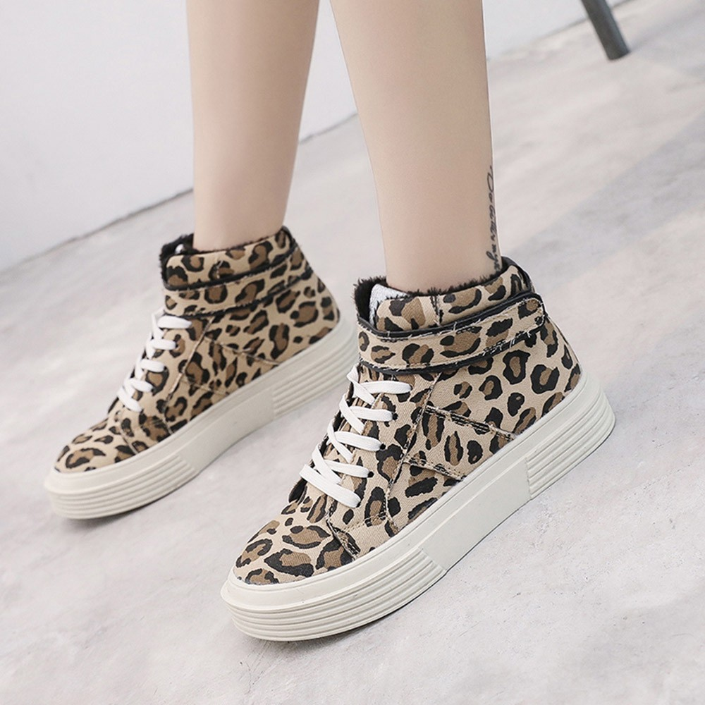 Women-Fashion-Leopard-Thick-Canvas-Flat-Short-Boots-Round-Toe-Casual-Shoes-Fashion-Simple-shoes-woman(1)
