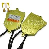 HID 55W 12V AC Xenon HID Conversion Kit Lamp With Slim HID Ballast Car Headlight