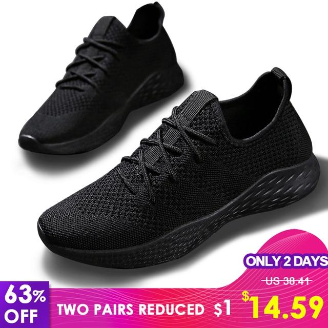 Men Casual Shoes Men Sneakers Brand Men Shoes 남성 Mesh 츠 로퍼 Slip 에 큰 Size 숨 봄 Autumn Winter xammep