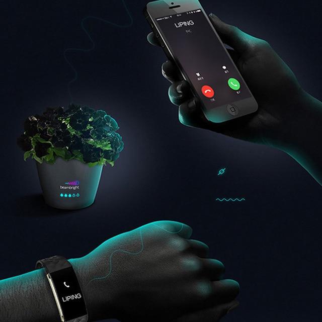 GAGAFEEL Women Men Smart Watch Herat Rate Monitor For Android 4.3 iOS 7.0 Pedometer IP67 Waterproof Smartwatch