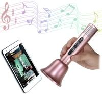 Handhold Bluetooth Magic Karaoke Microphone Phone KTV Player Wireless Condenser Bluetooth MIC Speaker Record Music