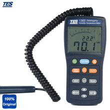 On sale TES-1365 Automatic Timer Recording for Datalogger Digital Thermometer,Humidity Meter tester ,Datalogging Temperature Meter