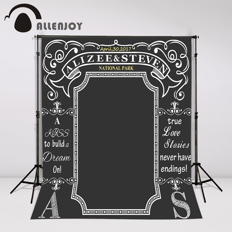 allenjoy custom blackboard wedding background idea chalk archway backdrop chalkboard photo booth. Black Bedroom Furniture Sets. Home Design Ideas