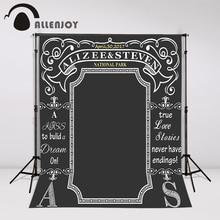 blackboard Wedding Background Idea