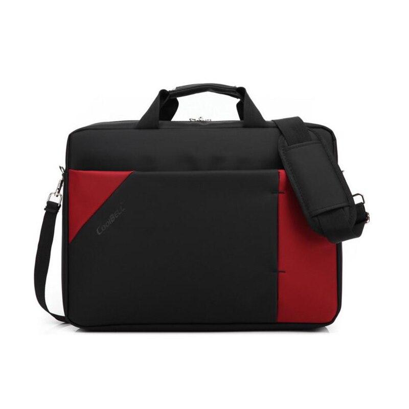 Cool Bell Fashion 17.3 inch Laptop Bag 17 Notebook Computer Bag Waterproof Messenger Shoulder Bag Men Women Briefcase Business все цены